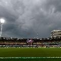 Rain stops fourth day play in Brisbane test