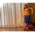 sitara dances on her father mahesh babu movie