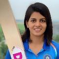 Team India woman cricketer Priya Punia said she likes Allu Arjun very much