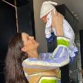 Natasha Adorablle Pic with Baby boy