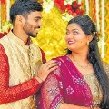 Cricketer Srikar Bharat Weds Anjali