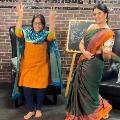 Anchor Sreemukhi Mahathalli fame Jahnavi dances together wins hearts