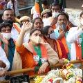 BJP want to send actress kushboo to rajyasabha from karnataka