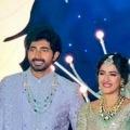 Niharika and Chaitanya wedding reception held in Hyderabad