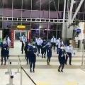 Indigo staff dances for Allu Arjun song Butta Bomma in Vizag airport