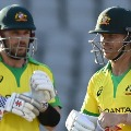Australian openers scores half centuries in 1st ODI against India