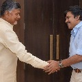 Chandrababu conveys his best wishes for Pawan Kalyan
