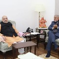 Bengal Governor meets Home Minister in Delhi