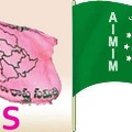 MIM tries to block TRS campaign in Hyderabad old city
