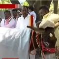 Donkeys wedding against valentines day in Karnataka