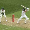 Virat Kohli run out in Adelaide test