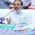 Eatala Rajendar opines on corona situations in state