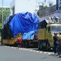 Heavy Truck started last year from Maharashtra has reached Kerala
