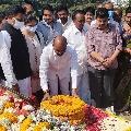 Bandi Sanjay fires on KCR after paying tributes to PV Narasimha Rao