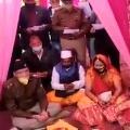 SP recites corona measures at a wedding ceremony in Uttarakhand