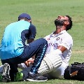Chennai Test Injury scare for India as Cheteshwar Pujara remains off the field