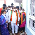 Somu Veerraju condemns attack on Srikalahasti Janasena leader house