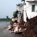 Hero Sharvanand Grand Father House demolish in Krishna Flood
