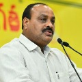 North Andhra affairs are handed over to a thief says Atchannaidu