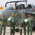 Rafale Jets Stunts in Air