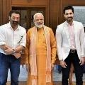 Old Pic Goes Viral Deep Siddhu with Modi
