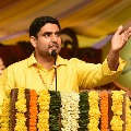 Nara Lokesh shares a video of destruction and vandalizing