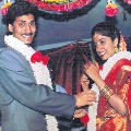 YCP MLA Roja shares CM Jagan marriage photo