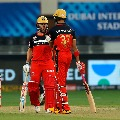 Padikkal and AB deVilliers blasts off some fire works for RCB