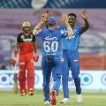 Delhi bowlers restricts Banglore batsmen