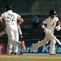 England bats very slowly in Chennai test