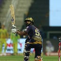 Rahul Tripathi guided Kolkata Knight Riders for a respectable score