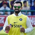 Kohli funny warm up went viral on social media