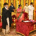 Hima Kohli taken oath as Telangana High Court Chief Justice