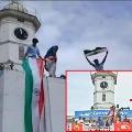 DYFI hoists tricolour at Palakkad municipality after BJP unfurls Jai Shri Ram banner