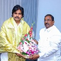 AP BJP Chief Somu Veerraju met Pawan Kalyan in Hyderabad