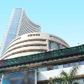 Sensex ends with huge gains