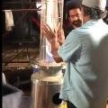 RRR shoting video goes viral
