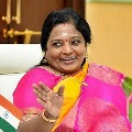 TRS Leaders fire on Governer Tamilisai