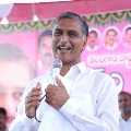 Harish Rao helps a family to rebuild their house