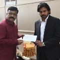 Mantralayam Math invites Pawan Kalyan to Thungabhadra Pushkaralu