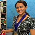 Vice President of India Venkaiah Naidu appreciates Anika Chebrolu who won young scientist challenge