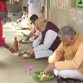 Amit Shah had lunch at farmers house
