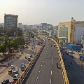 Roads in Hyderabad are now in no traffic