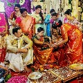 Niharika tie the knot with Chaitanya