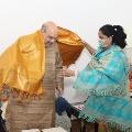 Vijayasanthi met Home Ministeter Amit Shah in Delhi