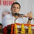 Rahul Gandhi decided to go to Rashtrapathi Bhavan by walk