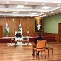 Union health secretary submit report to vice president Venkaiah Naidu on Eluru issue