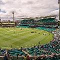 Fans in Sydney Cricket Ground