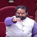 Speaker Tammineni Sitharam fires in morphing videos