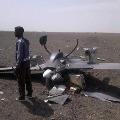 China made drones crashes